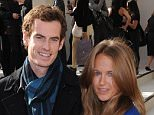 Andy Murray and Kim Sears\nLondon Fashion Week Spring/Summer 2011 - Burberry - Arrivals\nLondon, England - 21.09.10\n\nFeaturing: file andy and kim murray expecting baby 070815\nWhere: London, United Kingdom\nWhen: 21 Sep 2010\nCredit: WENN