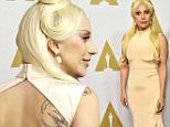 Mandatory Credit: Photo by Rob Latour/REX/Shutterstock (5584910bb)\nLady Gaga\n88th Academy Awards Nominees Luncheon, Los Angeles, America - 08 Feb 2016\n