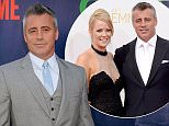 Melissa McKnight and actor Matt LeBlanc arrive to the 66th Annual Primetime Emmy Awards Puff.jpg
