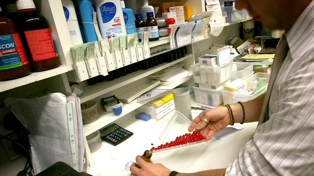 The vast majority of people live close to a pharmacy, a study has found