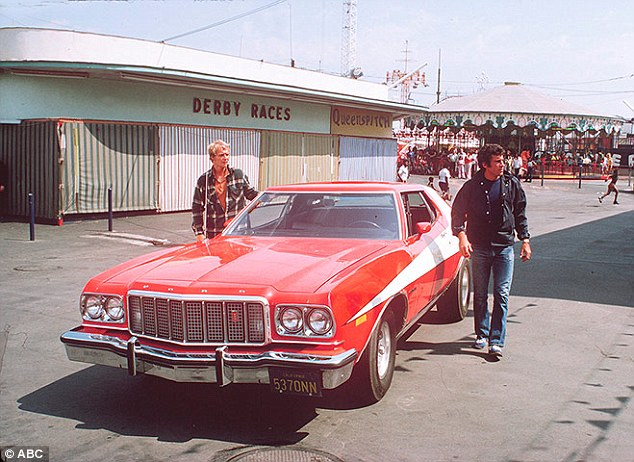 That's more like it! Soul was often seen tearing through the streets with co-star Paul Michael Glaser in the iconic seventies crime drama