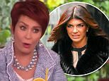 Sharon Osbourne made an awkward rape joke about Teresa Giudice's prison sentence while on she and The Talk co-hosts discussed the reality star.