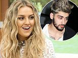 EDITORIAL USE ONLY. NO MERCHANDISING Mandatory Credit: Photo by Ken McKay/ITV/REX/Shutterstock (5585020cj) Little Mix - Perrie Edwards 'Good Morning Britain' TV show, London, Britain - 09 Feb 2016 They're one of the biggest girl groups in the world - Little Mix are in the studio ahead of their world tour, BRITS performance and nominations.