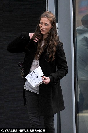 Rachel Sparey, 35, (pictured) arranged to meet lonely heart Scott Yardley at a Premier Inn, before stealing £380 from him as he showered
