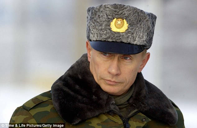 But Vladimir Putin, pictured, is an elected dictator whose critics are murdered on the streets or jailed