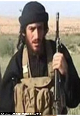 A Syrian militant, Abu Mohammed al-Adnani, whose birth name is Taha Sobhi Falaha and who is around 38 years old, is subject to a $5million reward for information leading to his death or capture.
