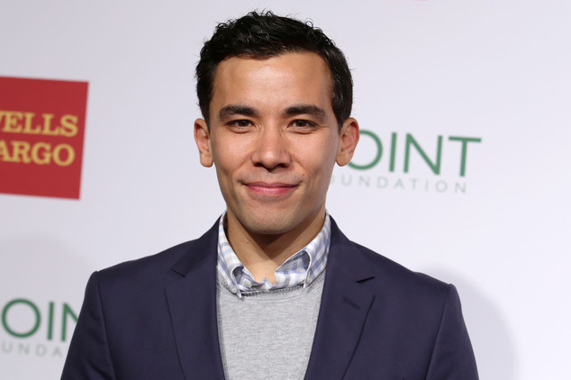 "FILE - In this April 13, 2015 file photo, actor Conrad Ricamora attends the Point Foundation¿s ""Point Honors 2015 New York Gala"" at The New York Public Libra..."