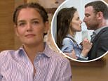 Katie Holmes chats with Kelly Ripa and Michael Strahan on Live! with Kelly and Michael