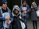 Actress Rose Byrne and Bobby Cannavale walk with their newborn in New York City on February 9, 2016\n\nPictured: Rose Byrne,Bobby Cannavale\nRef: SPL1223666  090216  \nPicture by: Christopher Peterson/Splash News\n\nSplash News and Pictures\nLos Angeles: 310-821-2666\nNew York: 212-619-2666\nLondon: 870-934-2666\nphotodesk@splashnews.com\n