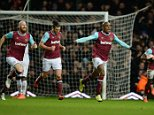 West Ham V Liverpool, FA Cup fourth round replay. , London. Pic Andy Hooper/Daily Mail