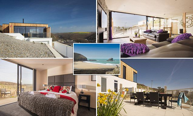 Portreath beach holiday home on Britain's best beach on sale for £650,000)
