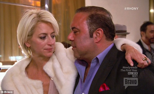 Not happy: Dorinda told John that she wanted to leave after his grinding session and declined to kiss him