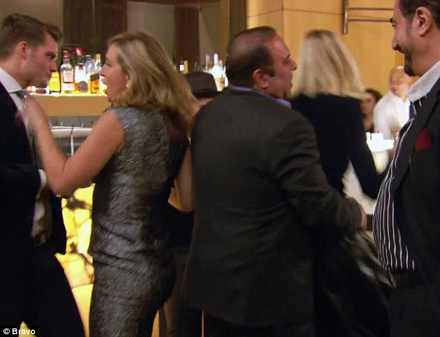 That's awkward: John grinded on Sonja and then turned around to hold Kristen