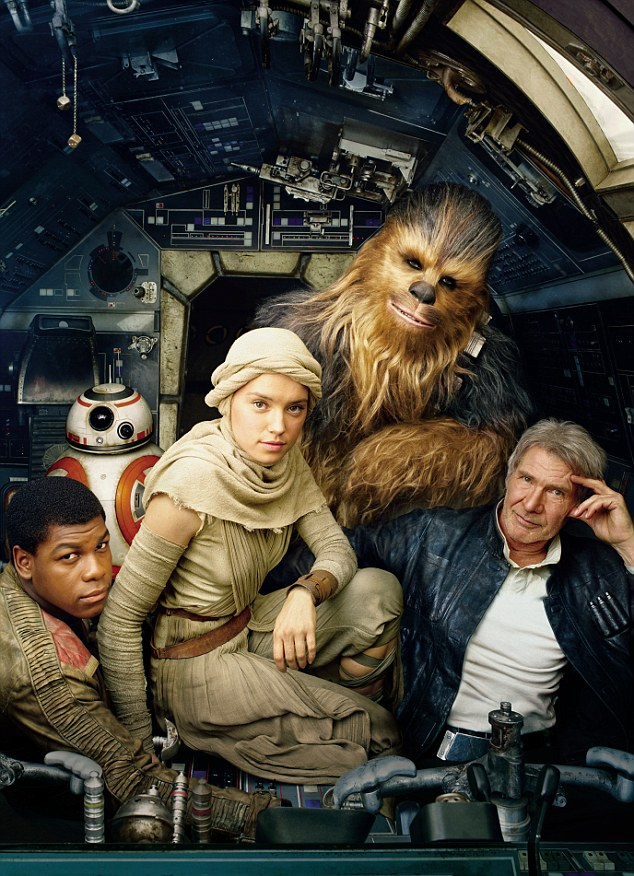 Coming soon: Vanity Fair has released the cover of its June issue, featuring cast from the upcoming film, Star Wars: Episode VII – The Force Awakens