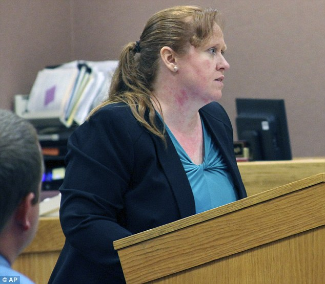 Zale's attorney, Melissa Pearce (pictured), told the jury that it was Flemming that was the catalyst for the fatal confrontation and that he has a violent past
