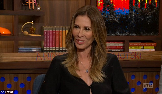 On the defensive: Carole Radziwill had to stand up for herself on Tuesday night's episode of Watch What Happens Live, as host Andy Cohen questioned her about a series of mean tweets from co-star Luann de Lesseps
