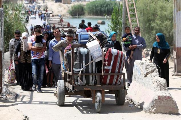 More than 2.2 million Iraqis were forced to flee inside the country from areas seized by the brutal Islamic State group, according to a study by the Internal...