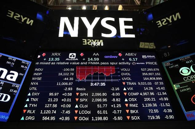 Wall Street stocks fell for a second straight session Wednesday following disappointing jobs data and a warning from Federal Reserve Chair Janet Yellen on hi...
