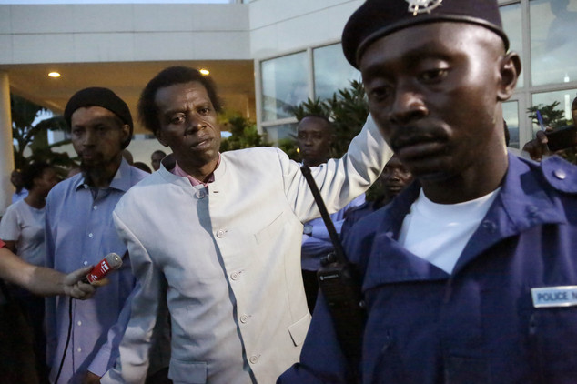 Police arrest opposition presidential candidate Audifax Ndabitoreye after he attended a government ministers meeting from East African Community nations in B...
