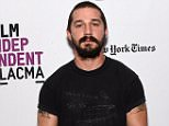 """LOS ANGELES, CA - JANUARY 21:  Actor Shia LaBeouf attends the Film Independent Live Read of """"Dr. Strangelove"""" with guest director Mark Romanek at the Bing Theatre at LACMA on January 21, 2016 in Los Angeles, California.  (Photo by Amanda Edwards/WireImage)"""