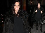 Pregnant actress Liv Tyler attends the Belstaff  x Liv Tyler film collaboration and pop-up celebration at Belstaff store in Soho in New York City on February 10, 2016  Pictured: Liv Tyler Ref: SPL1224491  100216   Picture by: Christopher Peterson/Splash News  Splash News and Pictures Los Angeles: 310-821-2666 New York: 212-619-2666 London: 870-934-2666 photodesk@splashnews.com