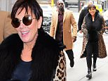 Mandatory Credit: Photo by Buzz Foto/REX/Shutterstock (5585648a)\nKris Jenner and Corey Gamble\nKris Jenner and Corey Gamble out and about, New York, America - 10 Feb 2016\n