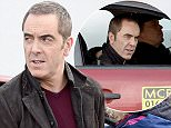 Mandatory Credit: Photo by MCPIX/REX/Shutterstock (5585384l) James Nesbitt 'Cold Feet' TV Series filming, Manchester, Britain - 09 Feb 2016 James Nesbitt is pictured filming the new series of Cold Feet in Manchester city centre. He is reprising his role of Adam Williams in the update of the 90's drama but fans might be disappointed to learn that he does not drive his taxi but it is on the back of a trailer.