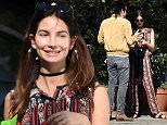 EXCLUSIVE: Lily Aldridge says goodbye to her husband Caleb Followill after the couple are spotted leaving a romantic lunch at popular Italian restaurant Angelini Osteria.  Pictured: Lily Aldridge Ref: SPL1222773  080216   EXCLUSIVE Picture by: M A N I K (NYC) / Splash News  Splash News and Pictures Los Angeles: 310-821-2666 New York: 212-619-2666 London: 870-934-2666 photodesk@splashnews.com