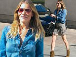 9.February.2016 - Beverly Hills ñ USA\n* EXCLUSIVE ALL ROUND PICTURES *\n*** STRICTLY AVAILABLE FOR UK AND GERMANY USE ONLY ***\nBeverly Hills, CA - A leggy LeAnn Rimes dresses for the 80 plus degree weather while out in Beverly Hills doing some shopping. LeAnn wore a denim top with a skirt and brown leather booties as she met with a friend to pick up a few items in the city on a warm day in L.A.\nBYLINE MUST READ : AKM-GSI-XPOSURE\n***UK CLIENTS - PICTURES CONTAINING CHILDREN PLEASE PIXELATE FACE PRIOR TO PUBLICATION ***\n*UK CLIENTS MUST CALL PRIOR TO TV OR ONLINE USAGE PLEASE TELEPHONE 0208 344 2007*