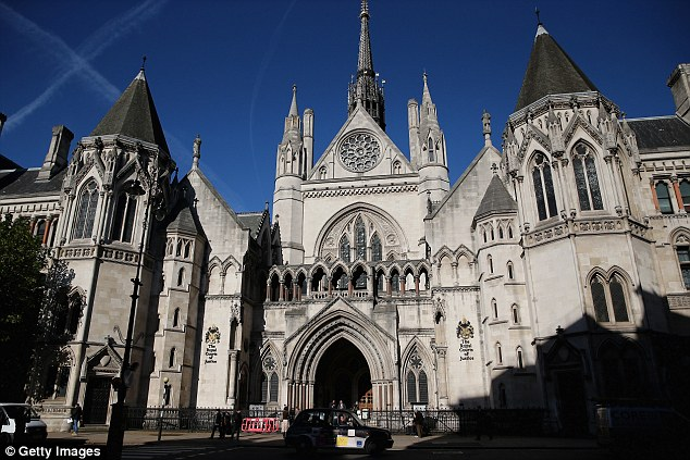 A gangster suspected of drug dealing, money laundering and fraud has been ordered to hand over his £800,000 crime empire, including seven properties, following a hearing at London's High Court (pictured)