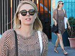 9.February.2016 - Venice Ò USA *** STRICTLY AVAILABLE FOR UK AND GERMANY USE ONLY *** Venice, CA - Maria Sharapova looks ready for spring as she and a friend walk down Abbot Kinney on Tuesday. BYLINE MUST READ : AKM-GSI-XPOSURE ***UK CLIENTS - PICTURES CONTAINING CHILDREN PLEASE PIXELATE FACE PRIOR TO PUBLICATION *** *UK CLIENTS MUST CALL PRIOR TO TV OR ONLINE USAGE PLEASE TELEPHONE 0208 344 2007*