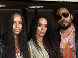 LOS ANGELES, CA - FEBRUARY 10: (L-R) Recording artist Twin Shadow, actors ZoÎ Kravitz, in Saint Laurent by Hedi Slimane, Lisa Bonet and recording artist Lenny Kravitz attend Saint Laurent at the Palladium on February 10, 2016 in Los Angeles, California for the Saint Laurent Los Angeles show.  (Photo by Larry Busacca/Getty Images for SAINT LAURENT)