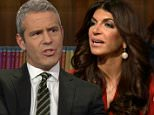 NEW YORK, NY: Tuesday, February 9, 2016 ? \n?Watch What Happens Live? ?One On One with Teresa: Part 1.? Host Andy Cohen and ?Real Housewives of New Jersey?s? Teresa Giudice, fresh from her prison release for tax fraud in Part 1 of their talk. They discussed what happened while she was in jail.\nCheryl Ladd as Linell Shapiro, Malcolm-Jamal Warner as Al Cowlings\n