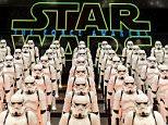 Mandatory Credit: Photo by Sipa Asia/REX/Shutterstock (5550408a)\nStormtroopers\n'Star Wars: The Force Awakens' event, Shanghai, China - 19 Jan 2016\n\n