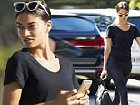 11 FEBRUARY 2016 SYDNEY AUSTRALIA\nEXCLUSIVE PICTURES\nShanina Shaik pictured at Balmoral Beach having breakfast at The Boathouse on her birthday.