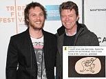 """Director Duncan Jones and father David Bowie attend the premiere of """"Moon"""" during the 2009 Tribeca Film Festival at BMCC Tribeca Performing Arts Center on April 30, 2009 in New York City.  (Photo by Michael Loccisano/Getty Images for Tribeca Film Festival)"""