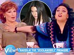 \nThe View with Raven-Symoné and 4 others.\n34 mins · \nOh no she didn't! Raven-Symoné gets heated about her brush with one eager reporter and Kendall Jenner on the ?#?Zoolander2? red carpet.
