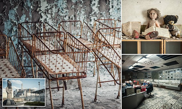 Chernobyl disaster site toured in Michael Huniewicz's stunning photographs