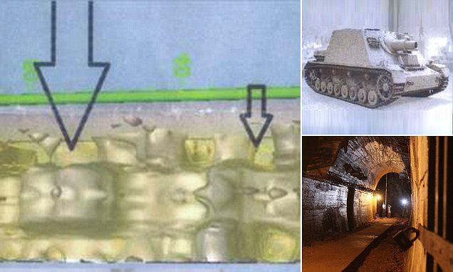 Radar image 'proof' of Nazi gold train that led Polish minister to declare he was '99pc