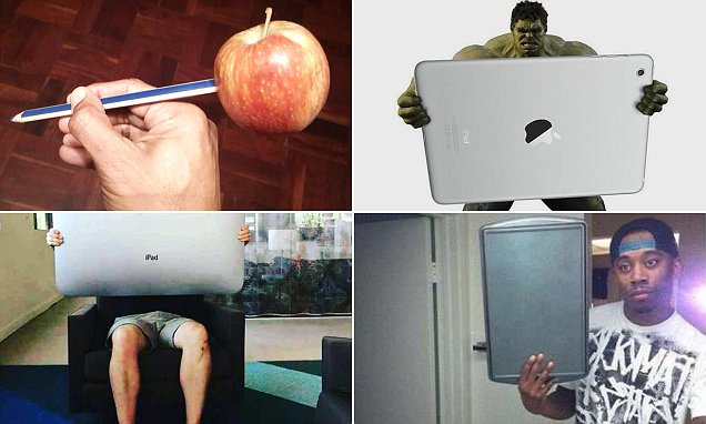 Apple iPad Pro and Pencil sees fans create hilarious memes