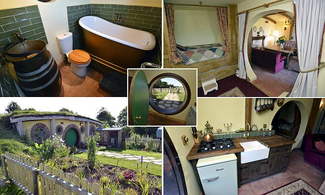 Potts Corner the £140,000 underground holiday home based on Lord of the Rings