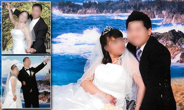 Sham wedding photos set up by a father and daughter in US Green Card scheme