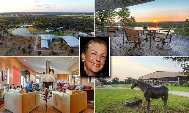 Wal-Mart heiress Alice Walton is selling her 1,435-acre Rocking W Ranch