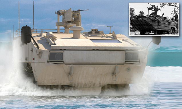 Lockheed Martin reveals $7m Amphibious Combat Vehicle with eight wheel drive