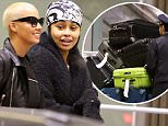 148026, EXCLUSIVE: Amber Rose and Blac Chyna seen arriving for the NBA All-Star weekend in Toronto. Toronto, Canada - Friday February 12, 2016. CANADA OUT Photograph: © PacificCoastNews. Los Angeles Office: +1 310.822.0419 sales@pacificcoastnews.com FEE MUST BE AGREED PRIOR TO USAGE