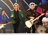 """Mandatory Credit: Photo by Xinhua/REX/Shutterstock (5583321a) Members of the British rock band """"The Rolling Stones"""" perform during their concert at la Plata Stadium in La Plata The Rolling Stones in concert at Estadio Unico in La Plata, Buenos Aires, Argentina - 07 Feb 2016"""