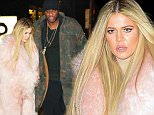 11.Feb.2016 - New York City - USA\n** PREMIUM EXCLUSIVE - UK CLIENTS MUST CALL FOR PRICING **øø** STRICTLY NO ONLINE UNTIL FURTHER NOTICE **\n*** STRICTLY AVAILABLE FOR UK AND GERMANY USE ONLY ***\nKhloe Kardashian and Lamar Odom exit Estiatorio Milos together after enjoying dinner with Kris Jenner and her man Cory Gamble, Kourtney Kardashian and her dad Caitlyn Jenner. The group filmed a few scenes for their famous Reality Show while eating. This is the first time Lamar Odom is seen out and about e since his drug overdose.\nBYLINE MUST READ : AKM-GSI-XPOSURE\n***UK CLIENTS - PICTURES CONTAINING CHILDREN PLEASE PIXELATE FACE PRIOR TO PUBLICATION ***\n*UK CLIENTS MUST CALL PRIOR TO TV OR ONLINE USAGE PLEASE TELEPHONE 0208 344 2007*\n