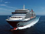QUEEN VICTORIA - THE NEW CUNARD LINE'S LUXURY CRUISE SHIP WHICH COMES INTO SERVICE IN 2008. PHOTOGRAPHS LFI ARCHIVE.