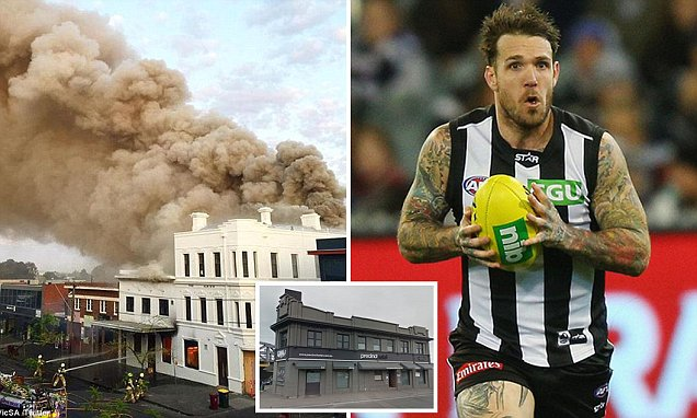 Bag stuffed with ICE could be key to torching of AFL's Dane Swan's Melbourne pub