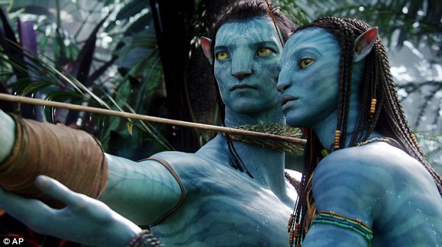 Record breaker: Avatar became the highest grossing film of all time after its release in 2009, beating Titanic, also directed by James Cameron, off the top spot